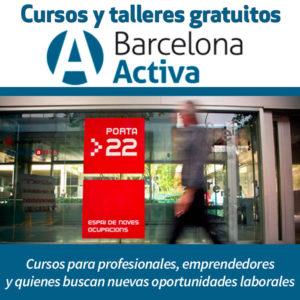 Ir a cursos y talleres gratuitos de Barcelona Activa