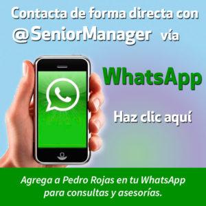 Ir a WhatsApp @seniormanager