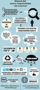 Infografía para nuevos emprendedores sin recursos