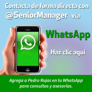 Ir a WhatsApp @seniormanager